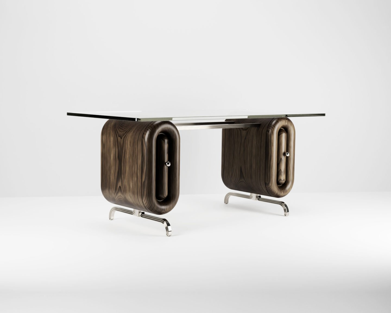 Avoirdupois réinterprète le style du mobilier du 20e siècle