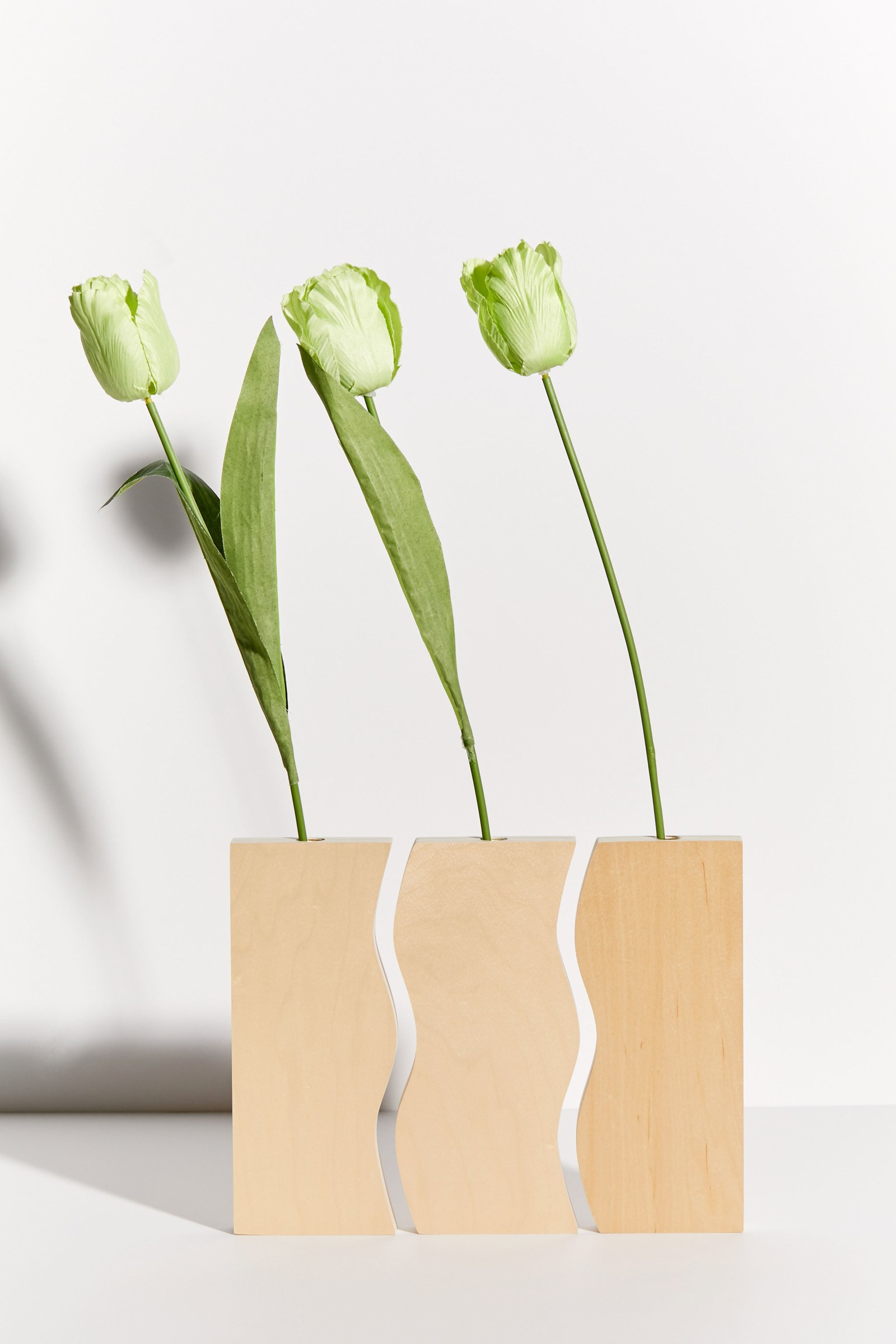 Wooden vase set on Urban Outfitters x Clever