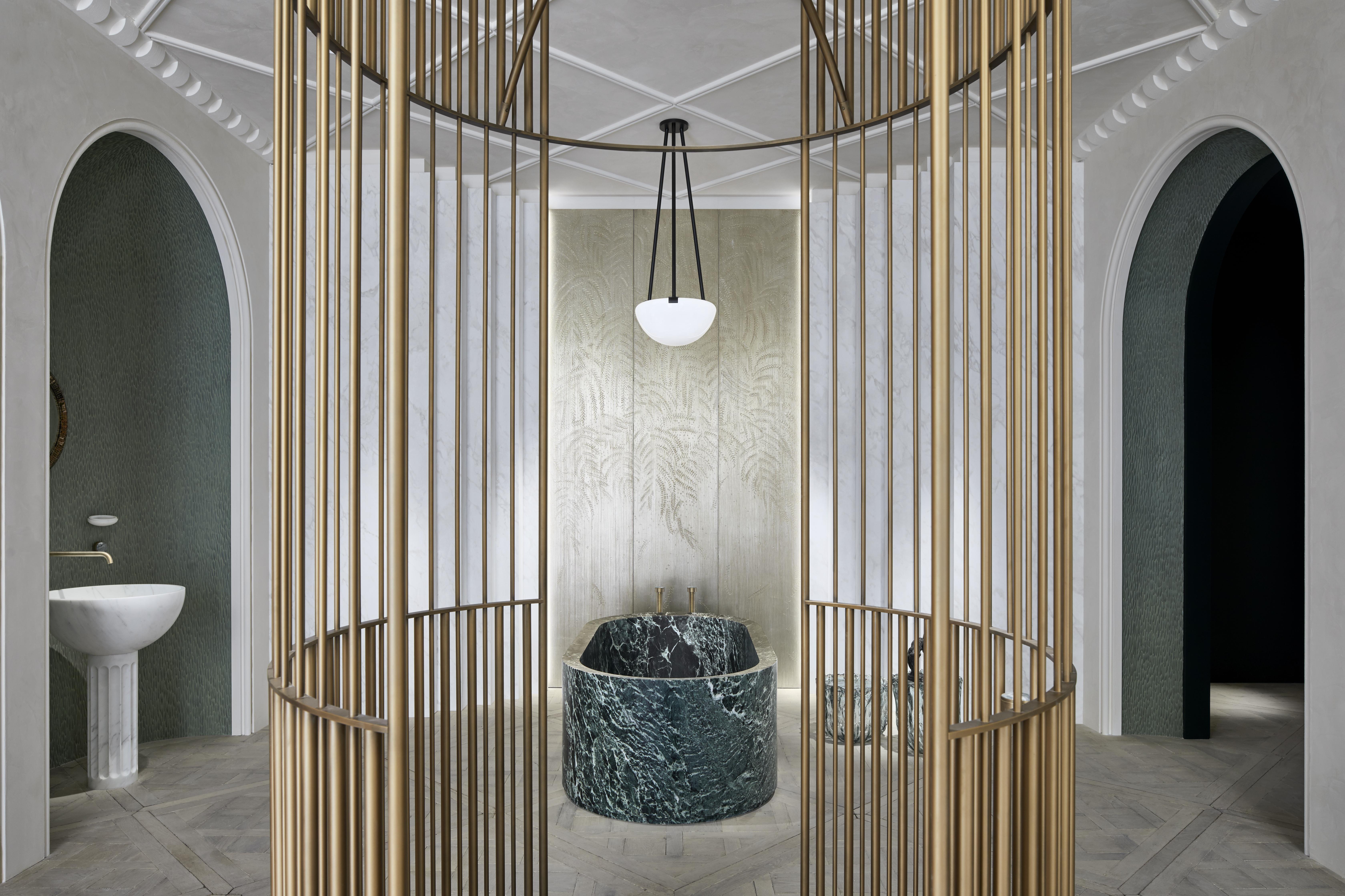 AD Intérieurs 2019, Humbert & Poyet, La salle de bain néo-classique