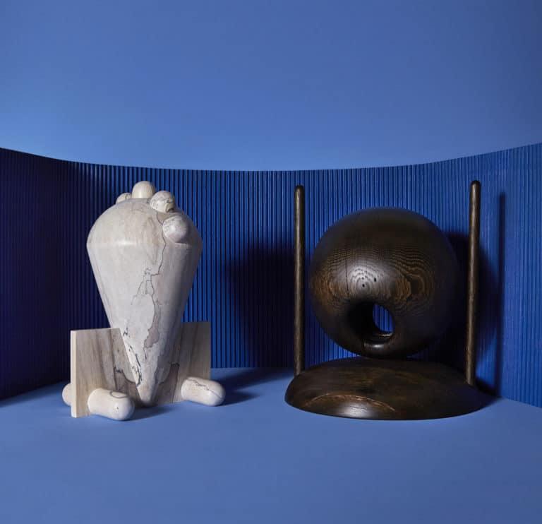 Le designer Nicholas Hamilton Holmes crée la collection unique de sculptures This and That pour Huskdesignblog à Art Elysées