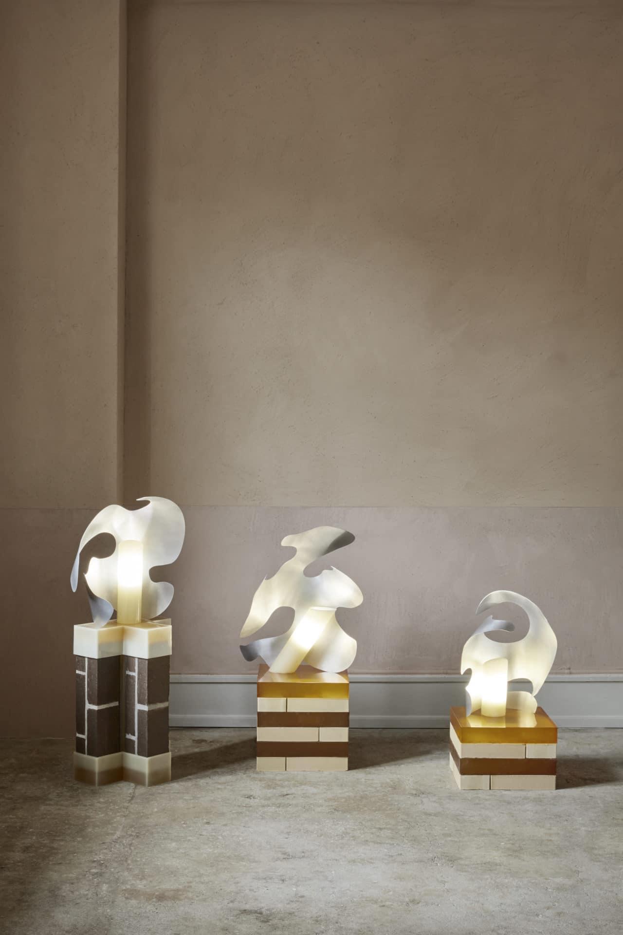 Ida Elke présente la lampe sculpturale Odd Shell light