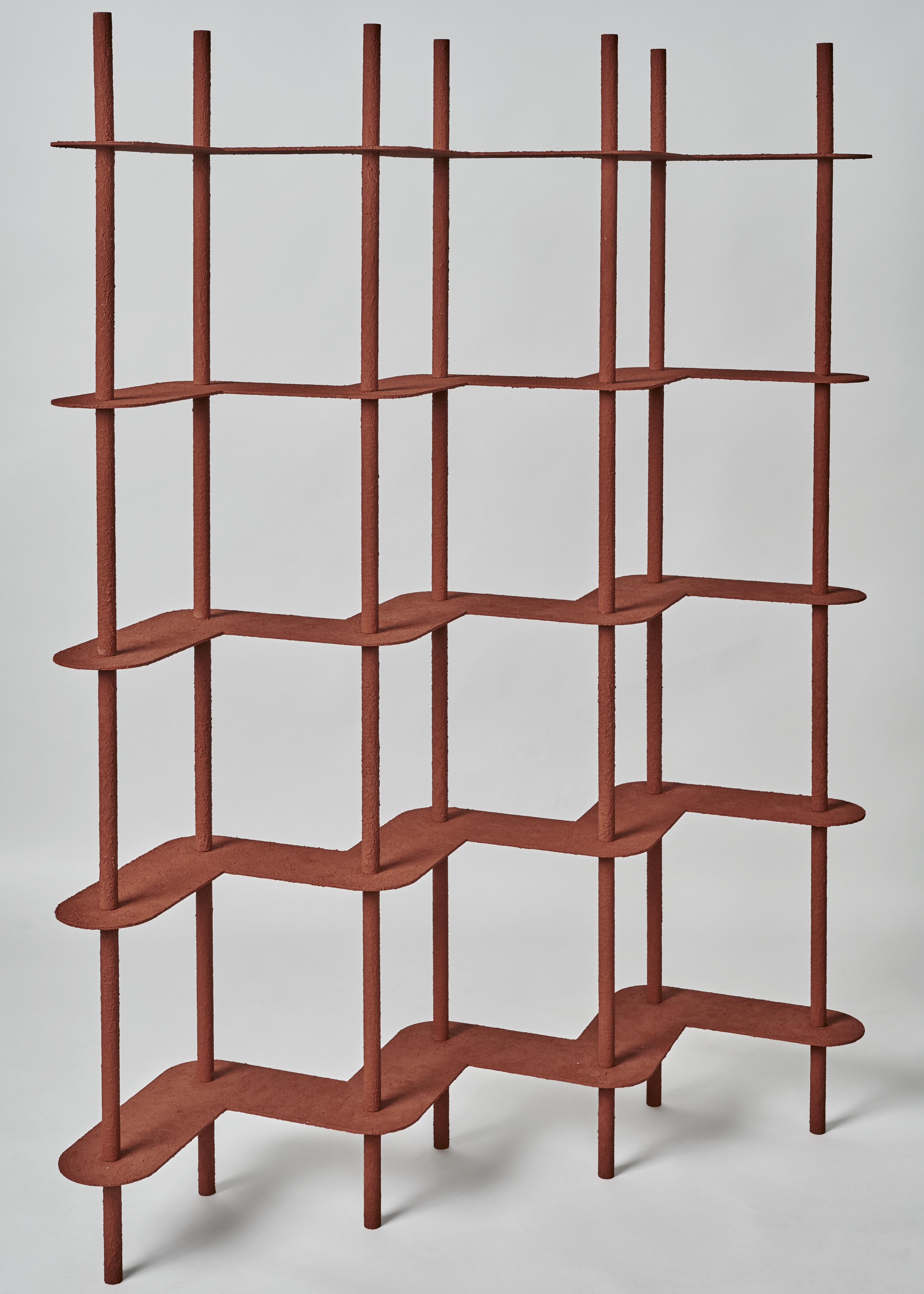 Screen Shelf, par Wendy Andreu , lors de l'évènement Art Elysées pour Huskdesignblog