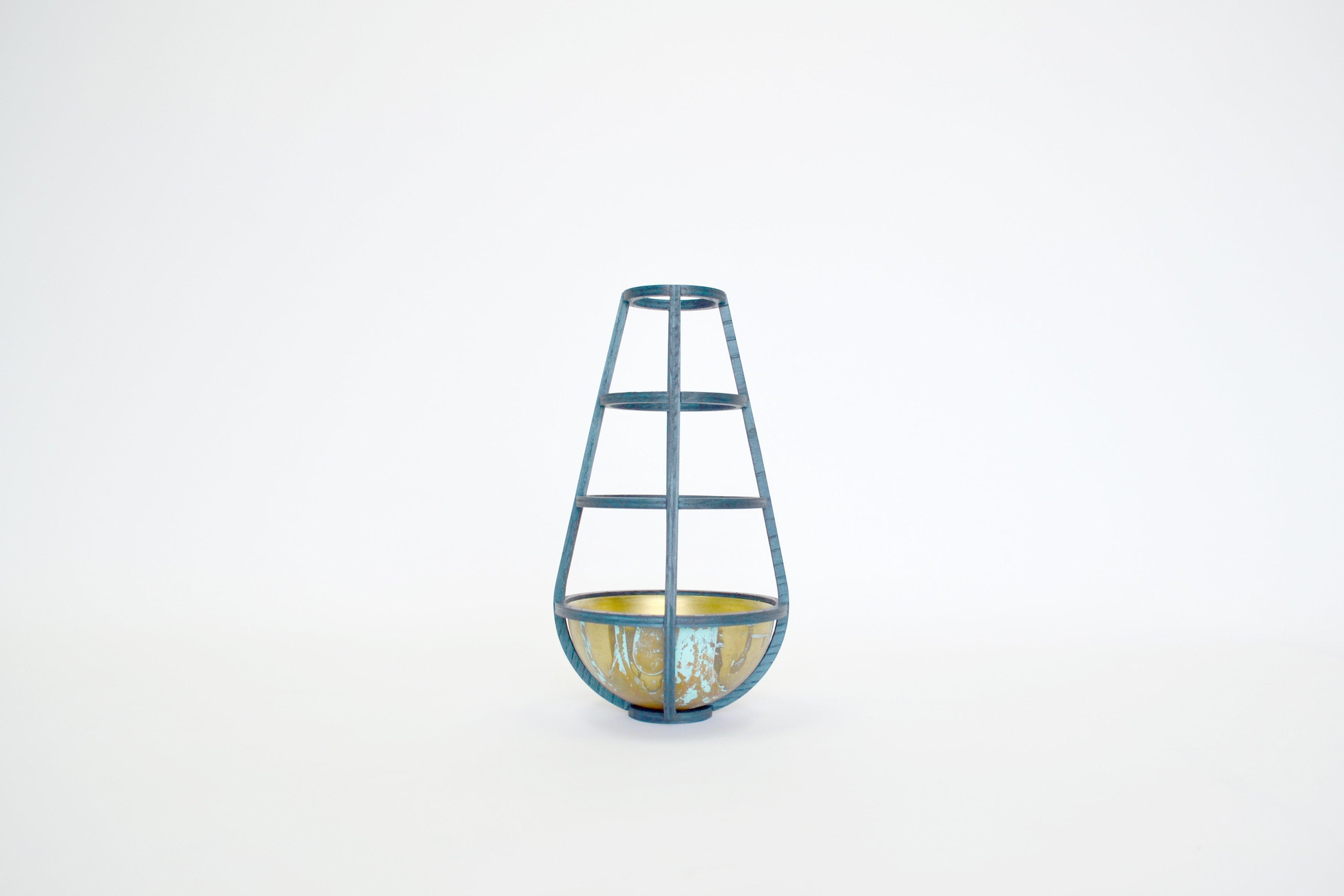 Pannier Vase 04, Trey Jones Studio
