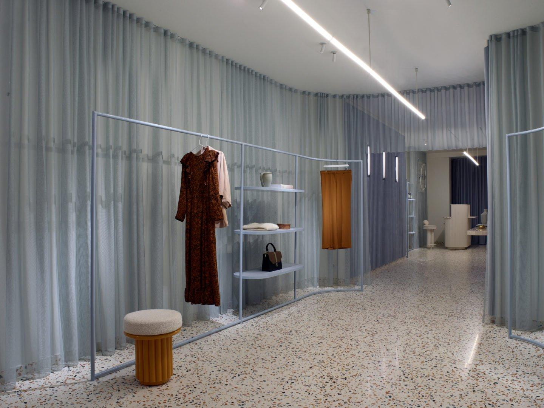Elena Mora studio designed Manalena concept store and brand image in Luxembourg