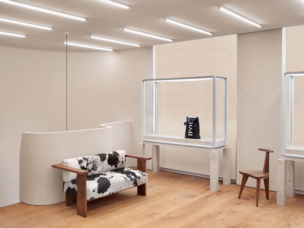 Halleroed designed Byredo store in London