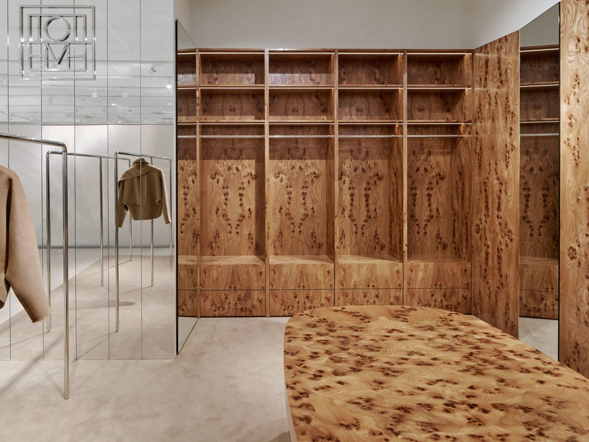 Halleroed designed the Toteme store in Stockholm