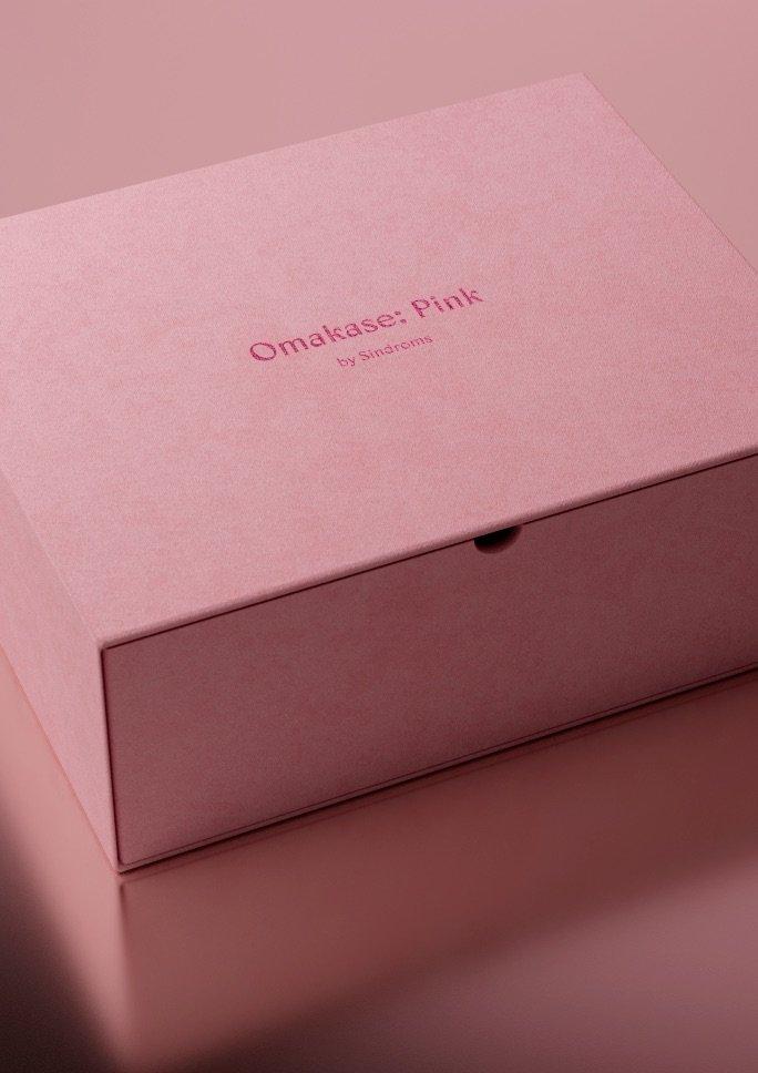 Omakase: Pink par Sindroms, un coffret-cadeau design et original