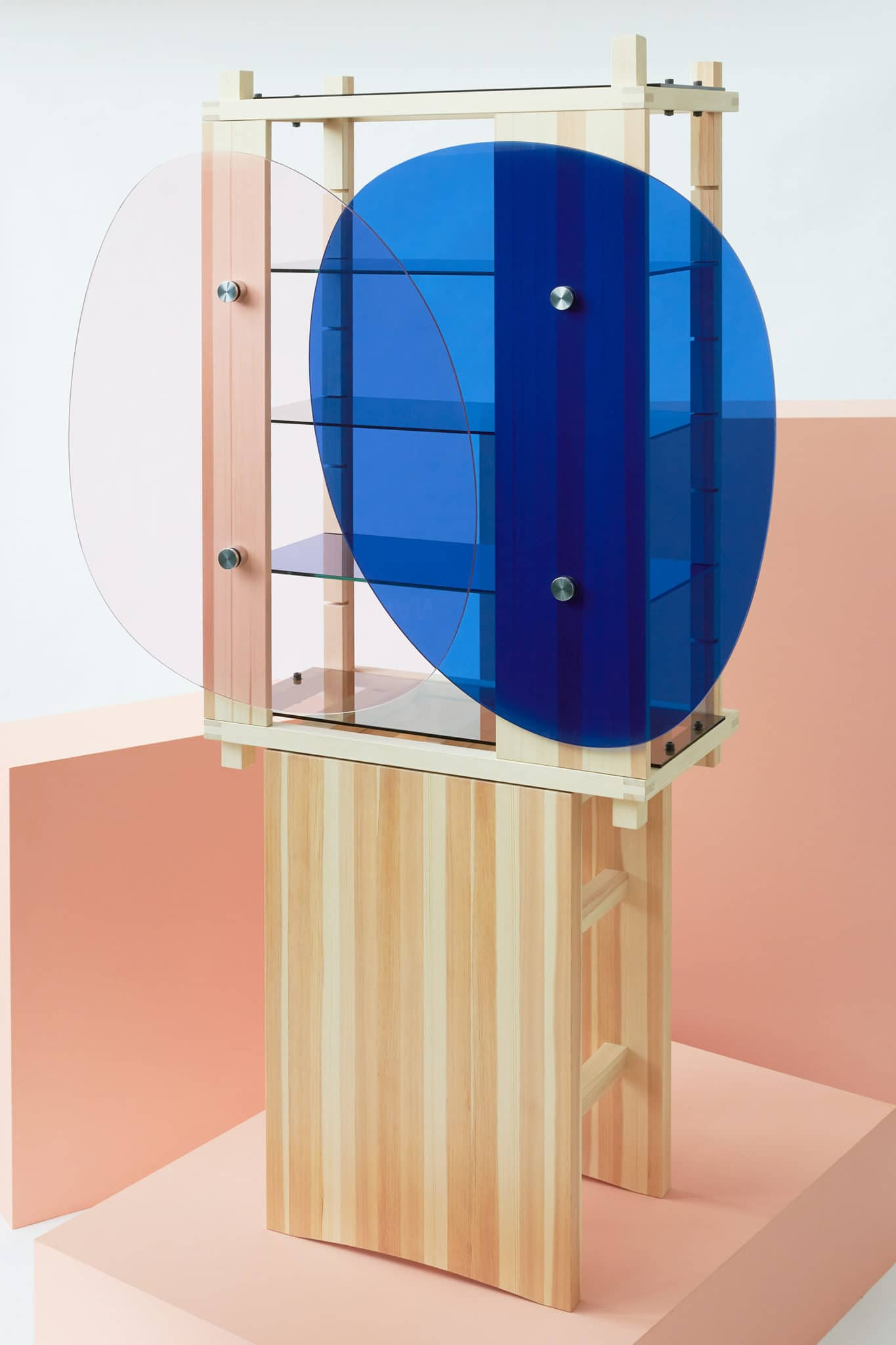 Amorfo cabinet by Luis Rodriguez and Oscar Wall