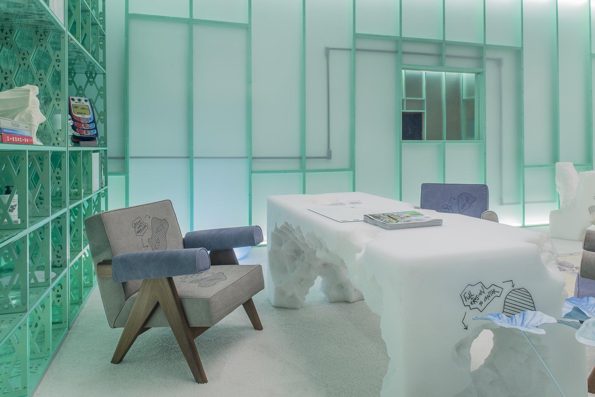 Design Miami 2019, Friedman Benda booth X Daniel Arsham