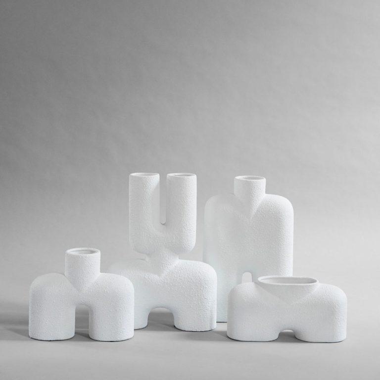 Maison et Objet 2020, White ceramic vase series by 101 Copenhagen