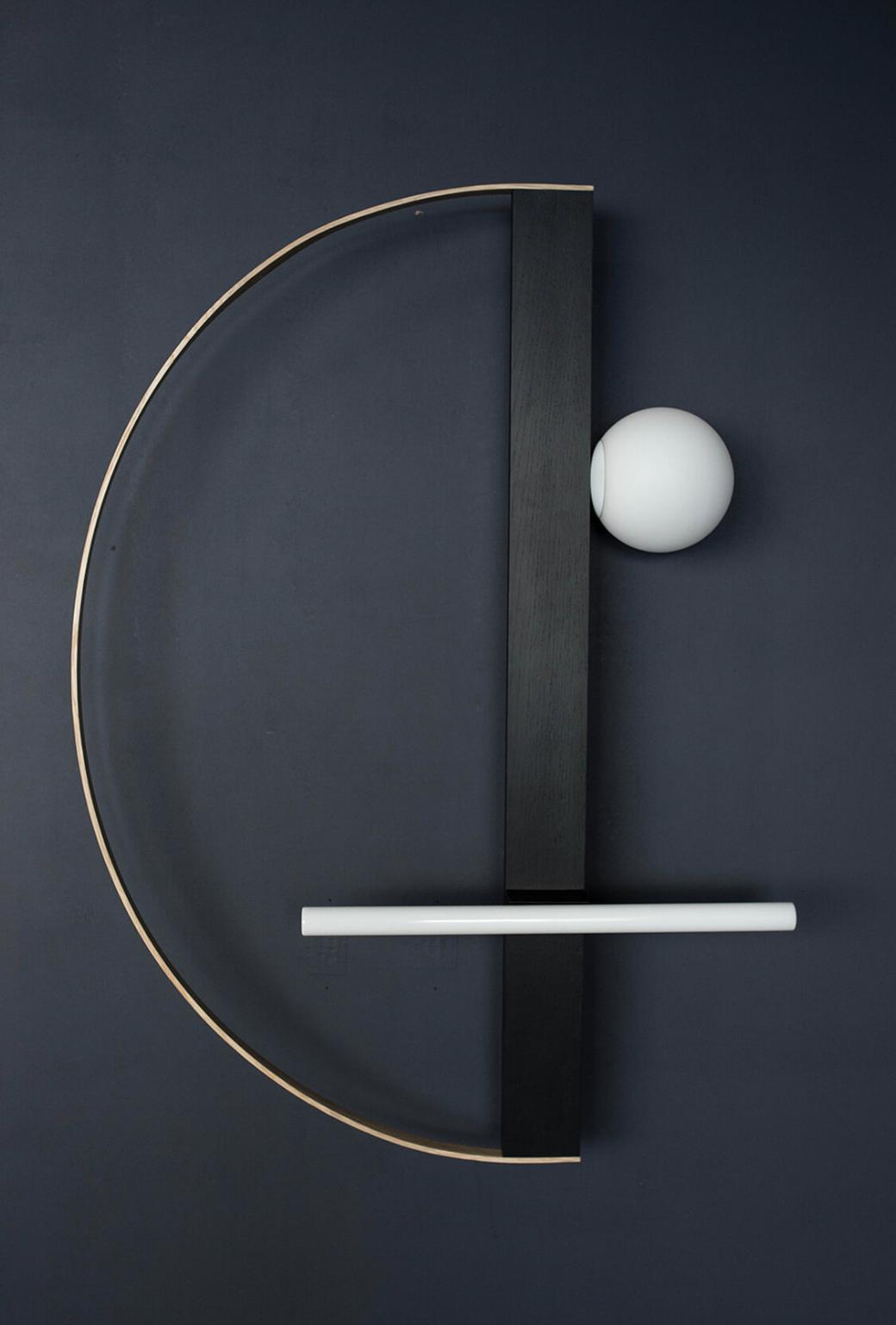 Maison et Objet 2020, face Sam wall light by Asaf Weinbroom