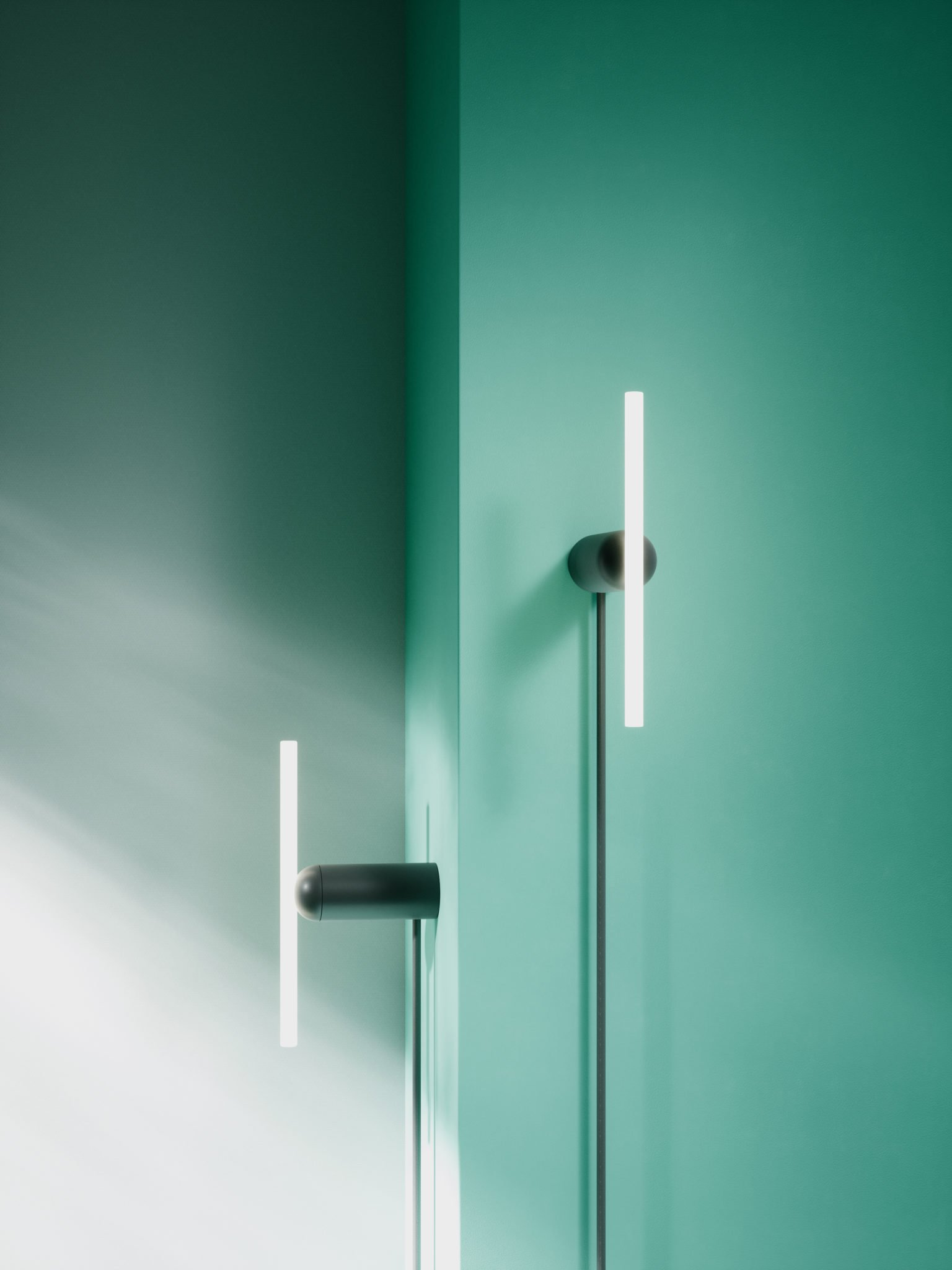 Maison et Objet 2020, minimal LED lamps by BEEM