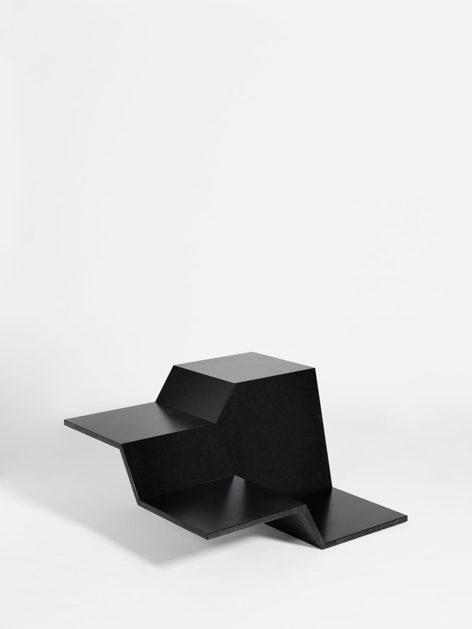 Maison et Objet 2020, Techxture, black marble coffee table