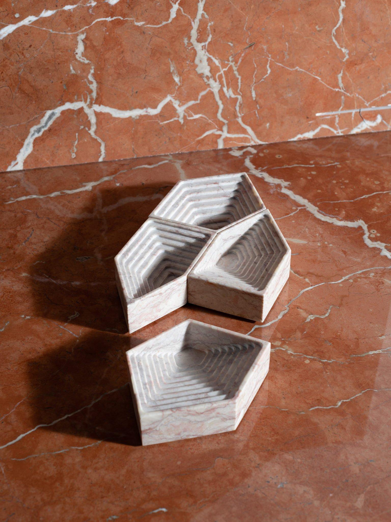 Maison et Objet 2020, Techxture, decorative marble trays