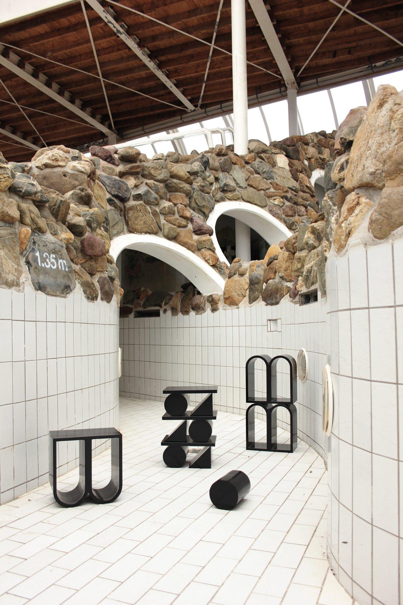 Mobilier design sculptural designer néerlandais Jordi Verbaan