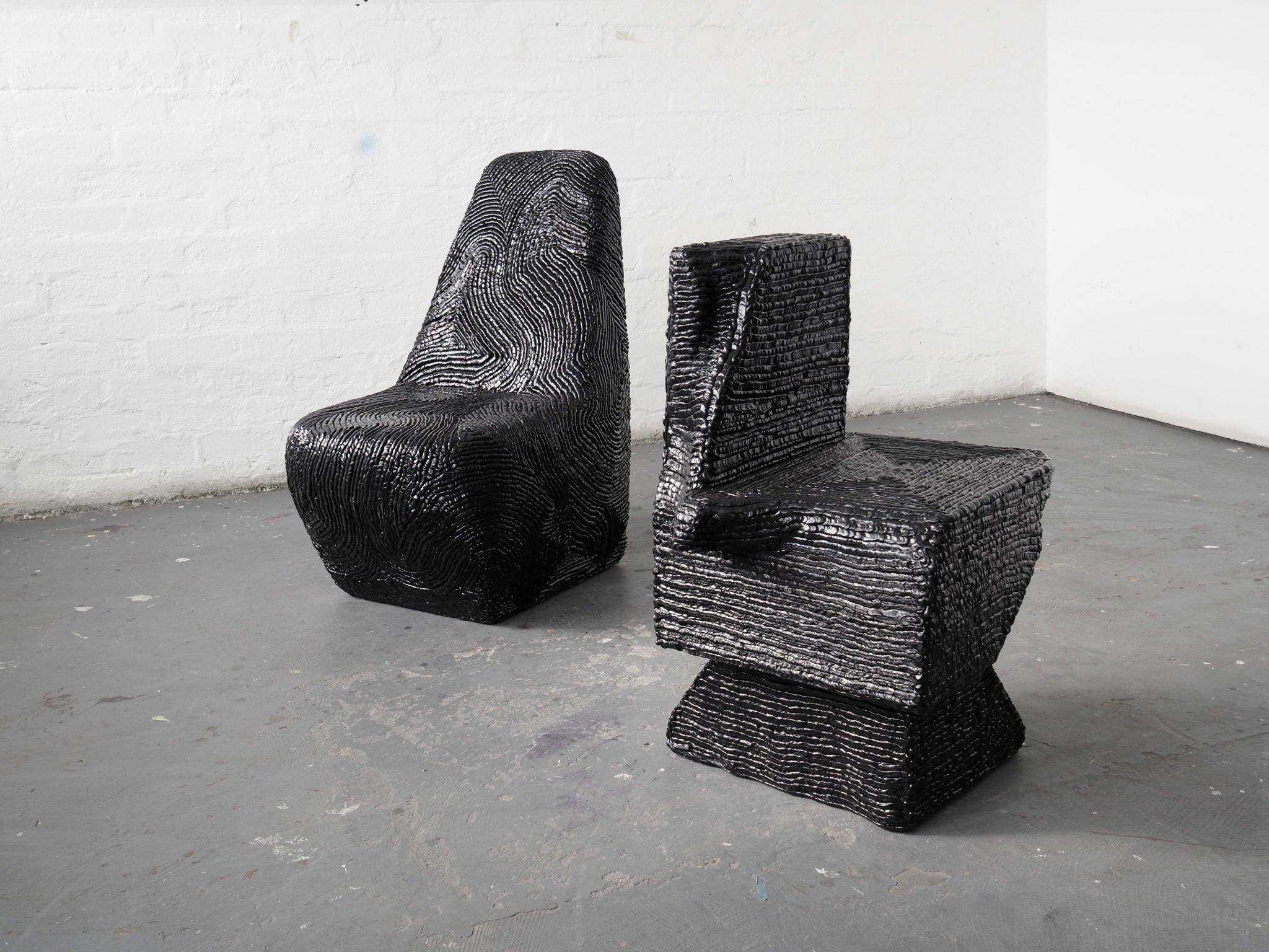 Mobilier design sculptural designer Mobilier design sculptural designer sud-africain Matthew Dasneves