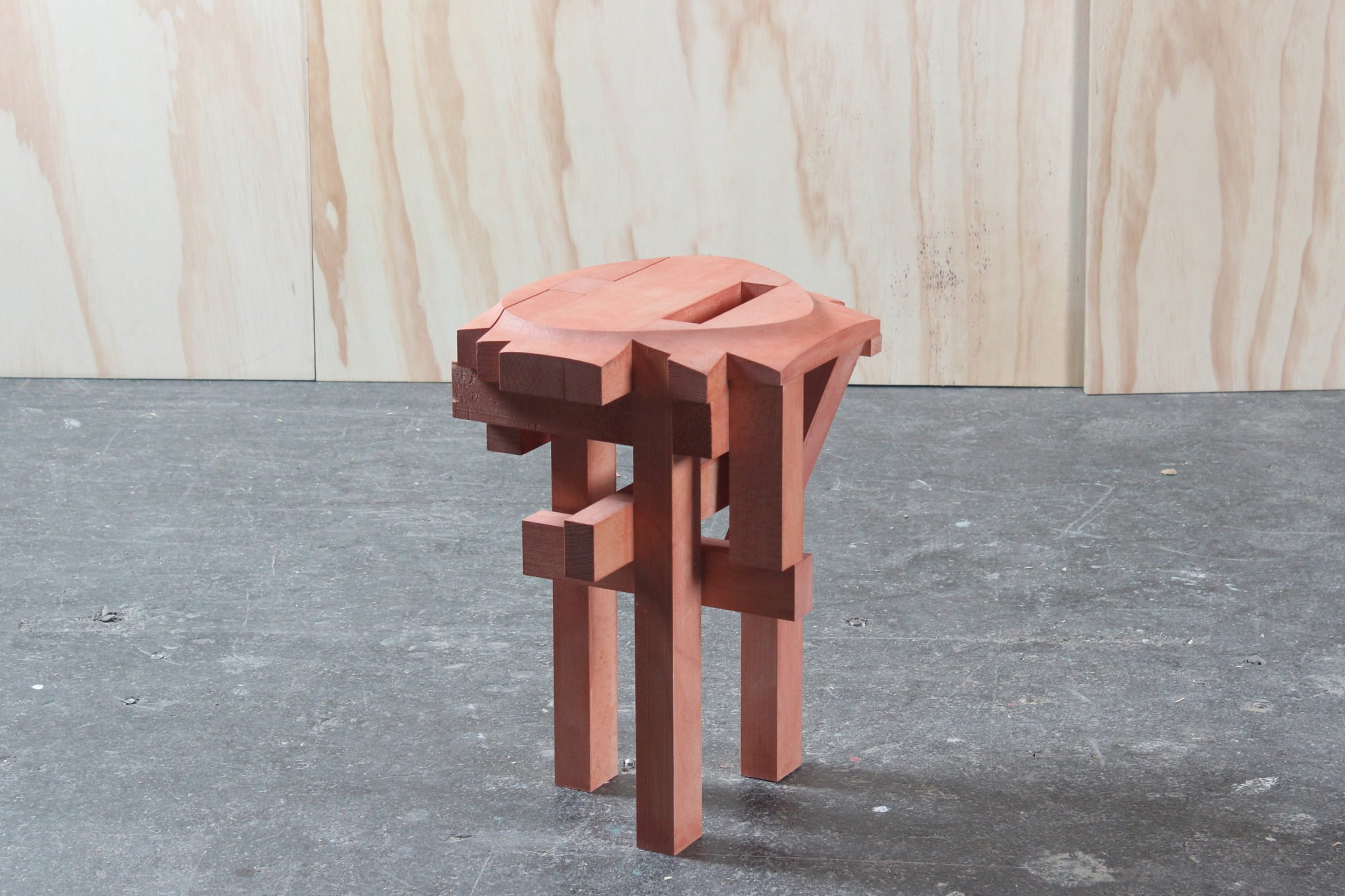 Mobilier design sculptural designer japonais Sho Ota