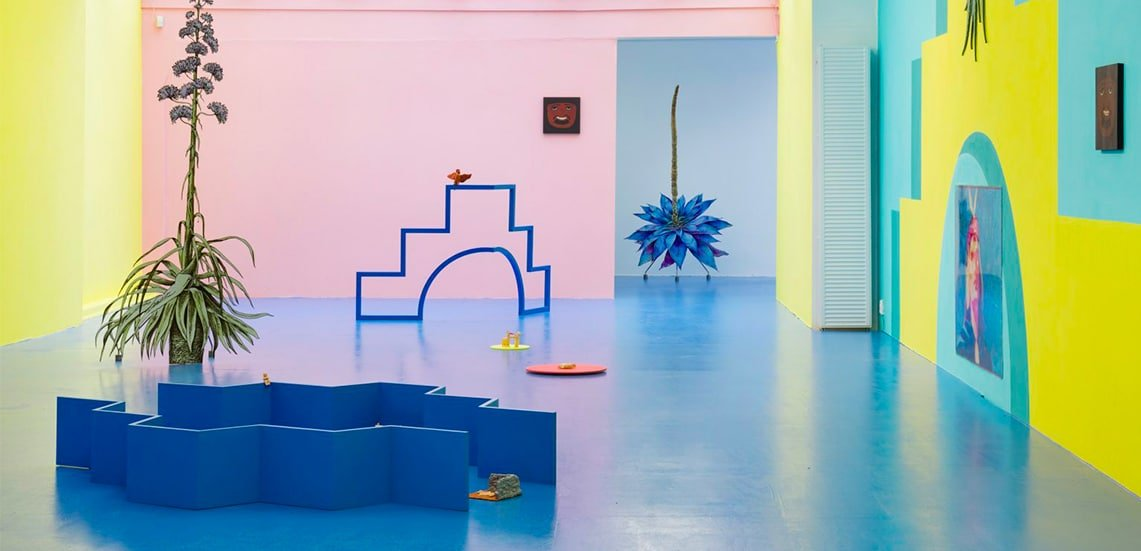 Taking design inspirations from art galleries, or the discovery of Claudia Martínez Garay's fantastic work