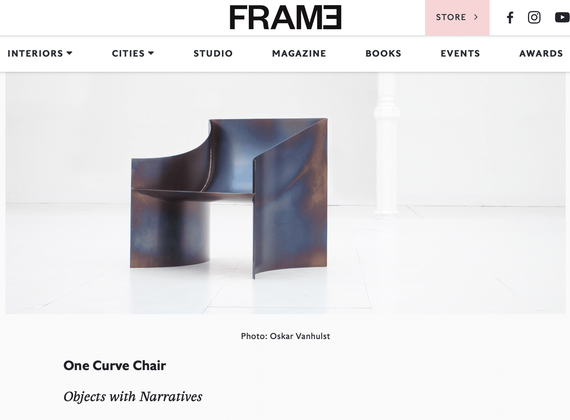 Frameweb, Collectible, mars 2020, Huskdesignblog, Objects with Narratives
