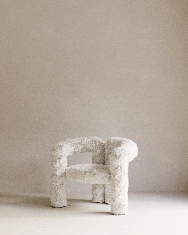 Offsite Online 2020, digital design fair, Pieces Home, Teddy chair
