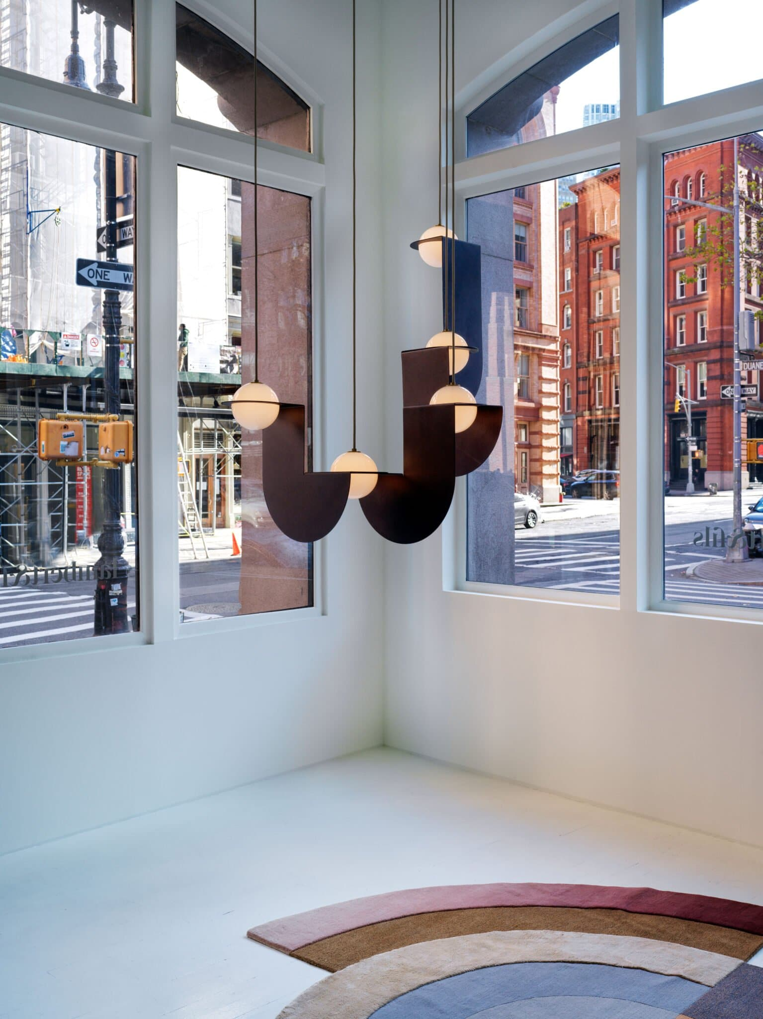 Lambert & Fils, showroom de luminaires Hudson and Duane, New York