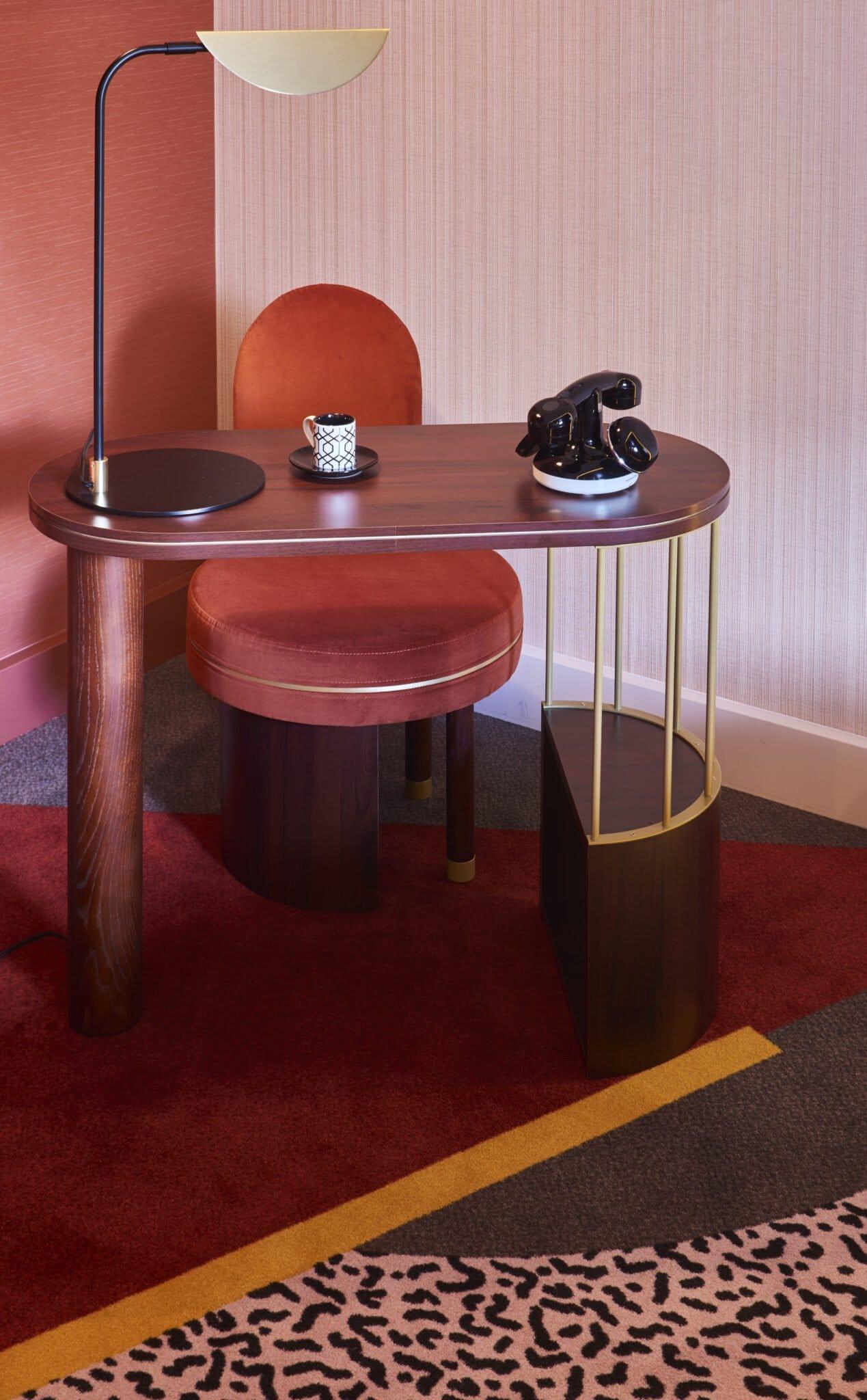 Nouvel hôtel MGallery Nest Paris, design Oscar Lucien Ono